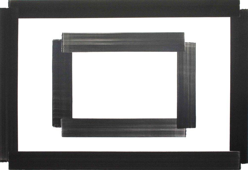 Guillaume Durrieu,  Sans Titre , 2014,huile sur toile - 185 x 270 cm -Courtesy the artist and Rabouan Moussion Gallery Paris