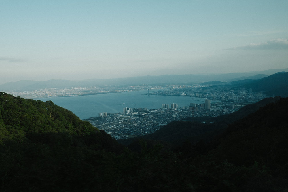 View from Mount Hiei