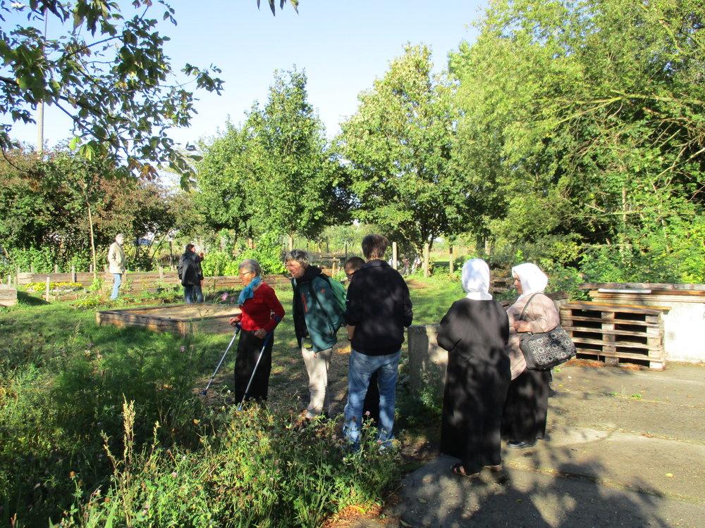 Besuch im Havelgarten