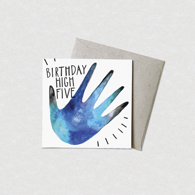 Birthday high five greeting card natalie martin birthday high five greeting card m4hsunfo