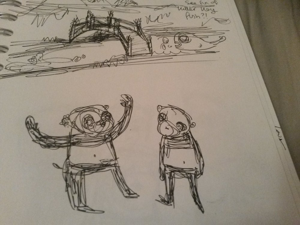 Bambi Willow Sketchbook Seven