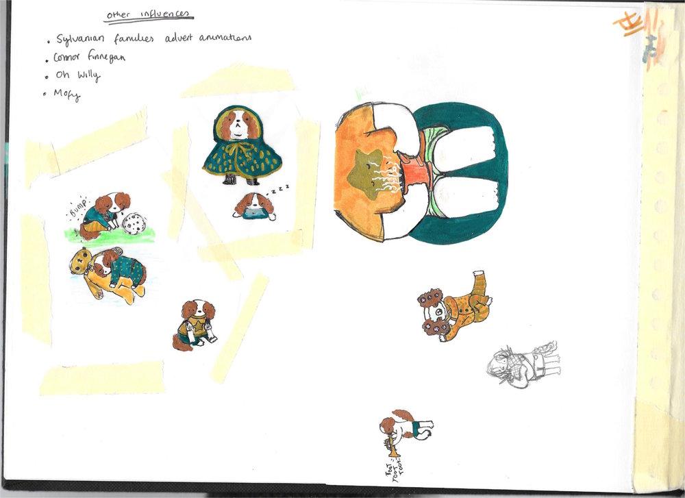 Bambi Willow Sketchbook Five