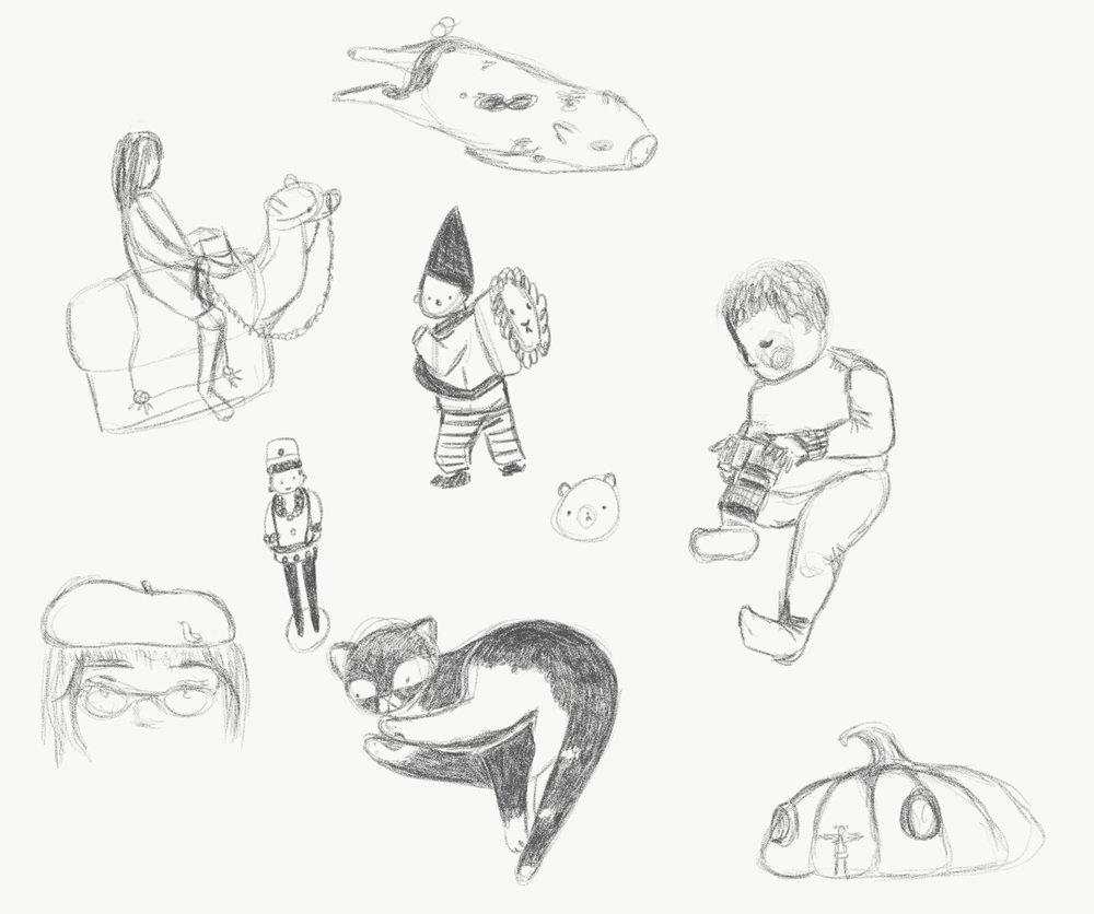 Bambi Willow Sketchbook Nine