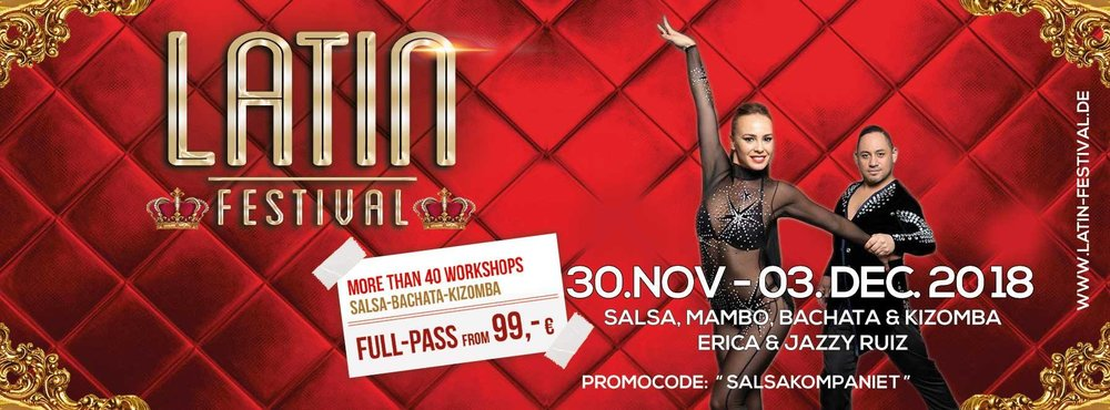 LATIN FESTIVAL STUTTGART - 30. NOVEMBER - 03. DECEMBER 2018