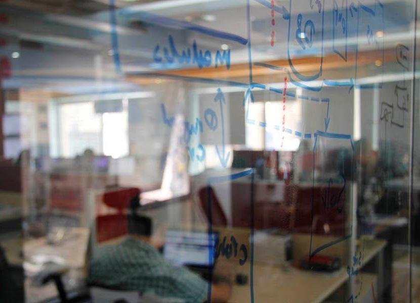The offices of portfolio company ArabiaWeather in Amman, Jordan