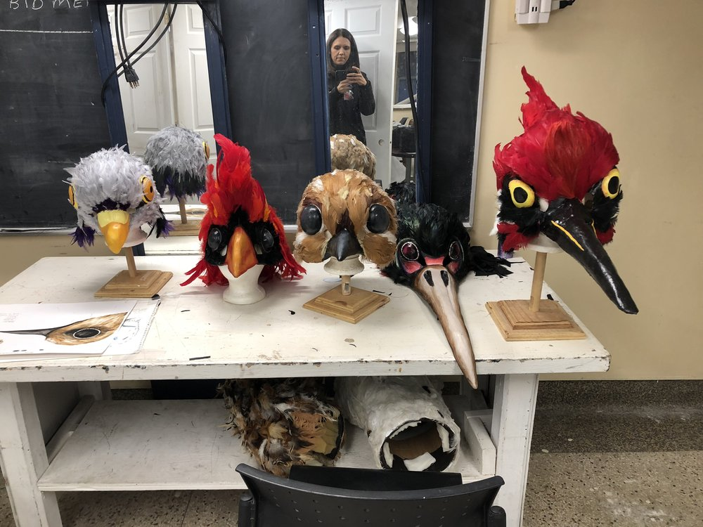 Birds Masks