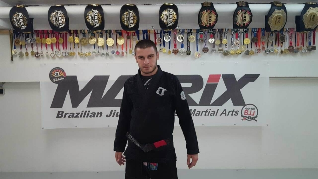 Alexander Neufang - Coach at Matrix-Saarbrücken, BJJ-Blackbelt under Robson Barbosa.More Info soon.