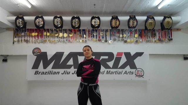 Raffaela Milner - Coach at Matrix-Saarbrücken Womens-Classes, BJJ-Purplebelt under Alexander NeufangMore Info soon.