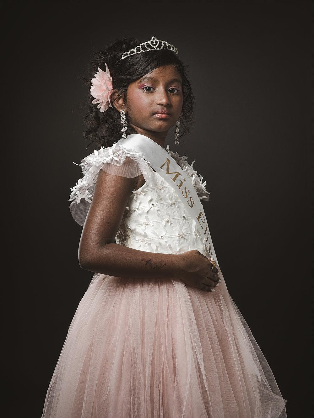 Elisa, aged 8
