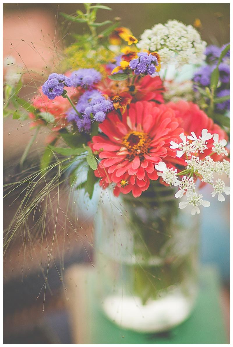flowers+wild+glass jar+story+session