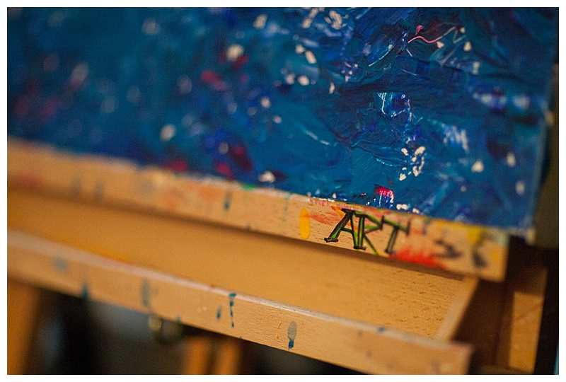 art easel. Jenks, OK