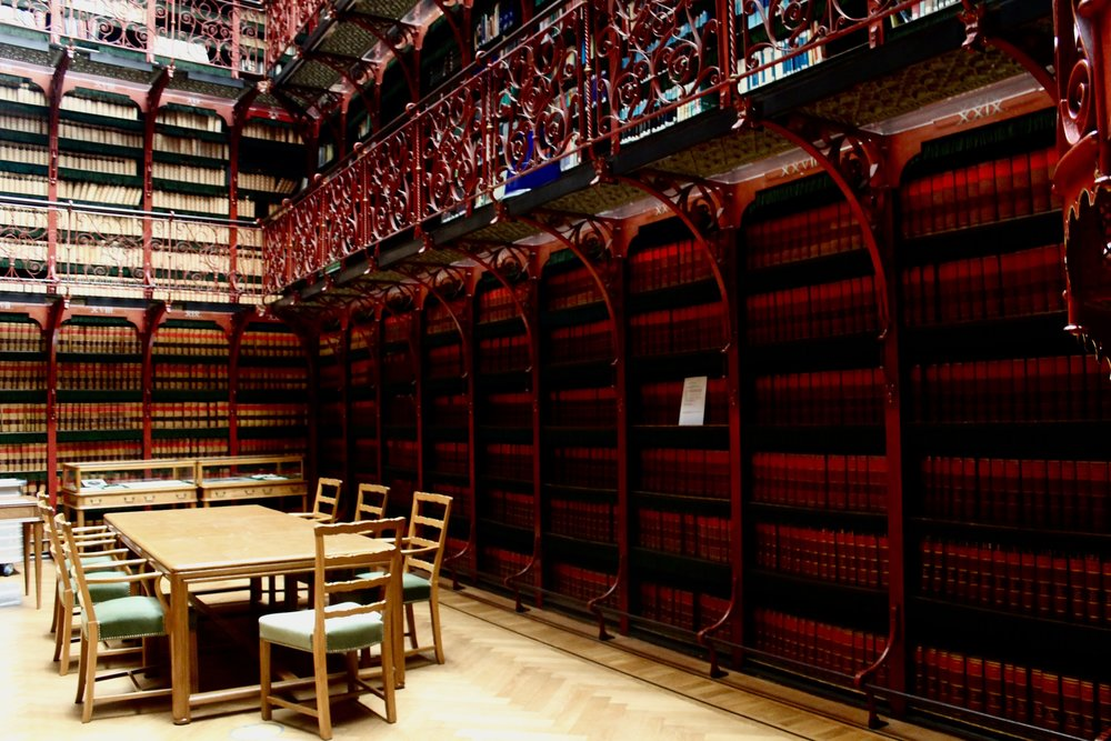 Handelingenkamer Parliamentary Library | The Hague, The Netherlands