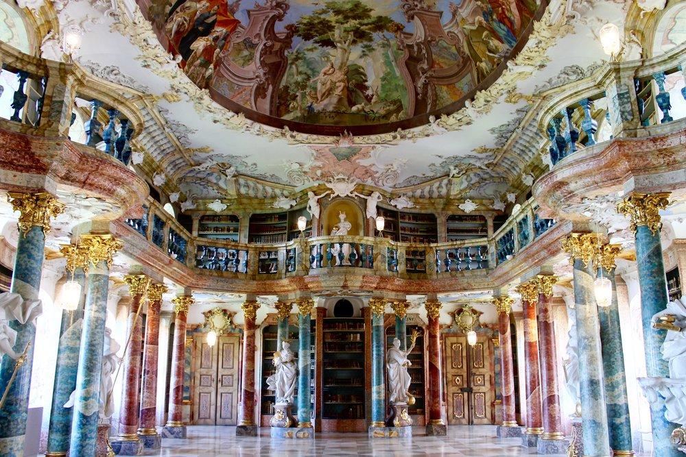 Wiblingen Kloister Library | Ulm, Austria