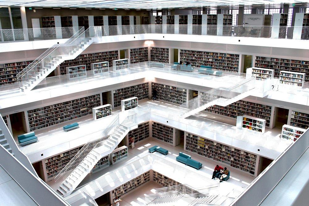 Stuttgart Public Library | Stuttgart, Germany