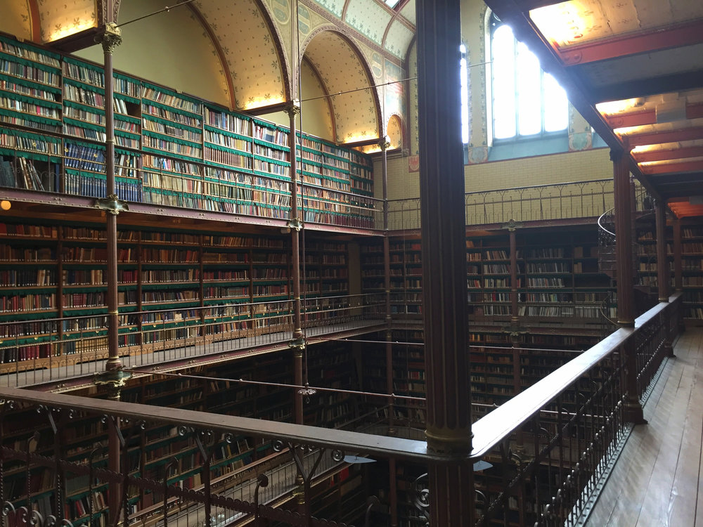 Rijksmuseums Library | Amsterdam, The Netherlands