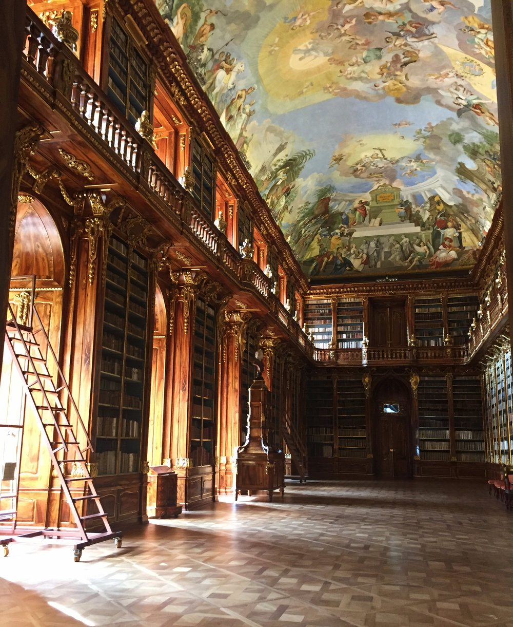 Strahov Monastery Library | Prague, Czech Republic