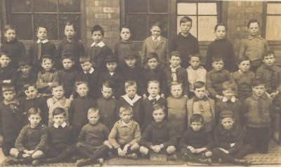 Albert F Foster 5th from right 2nd row.