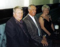 John Murphy, Kenny Hynett and his wife Sylvia. John and Kenny are both from Kent Street North