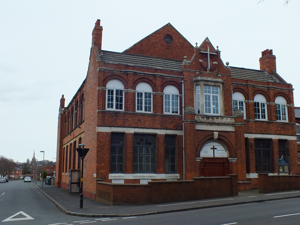 LODGE ROAD CHURCH CENTRE  2015.   (THE CONGREGATION CHURCH) (INSTITUTE)