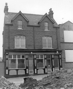 "The ""GROTTO"" pub,  Camden Street, shortly before demolition after closure in 1969.                                Supplied by Andrew Maxam"