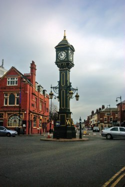Chamberlain Clock from Warstone Lane 2008