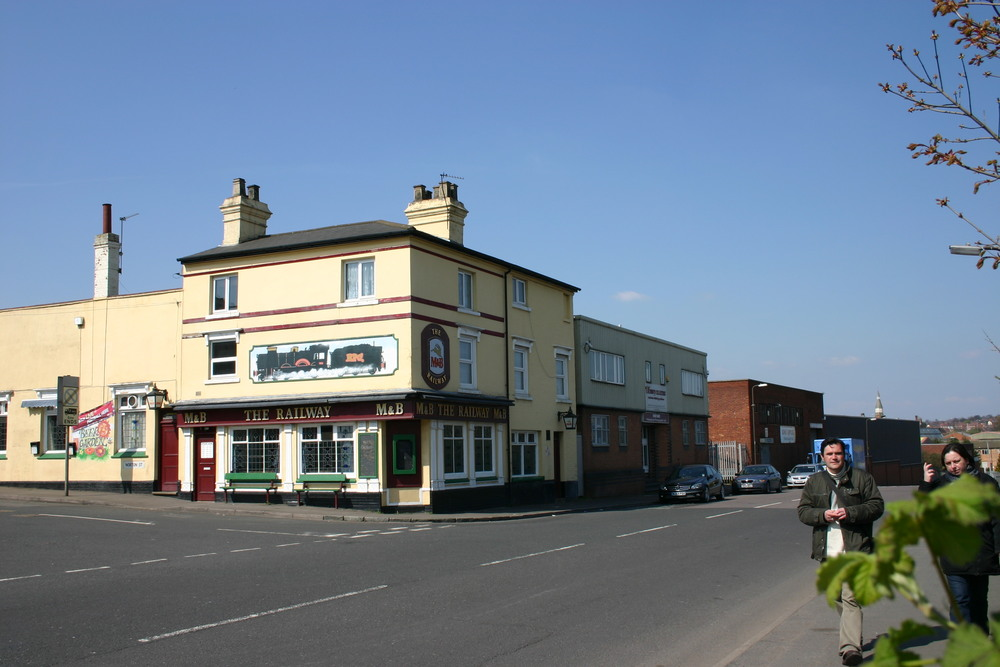 The Railway corner of Park Road and Norton Street in 2010