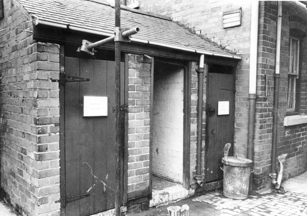 2w - Courtyard with Toilets 3-3-1964.jpg