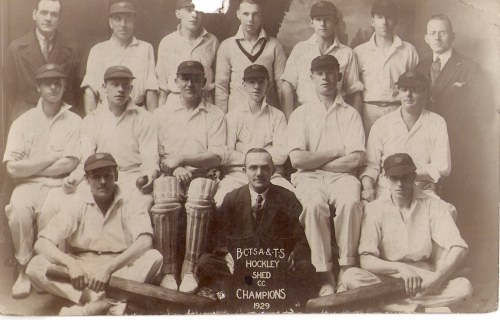 Birmingham City Transport Cricket Team 1929