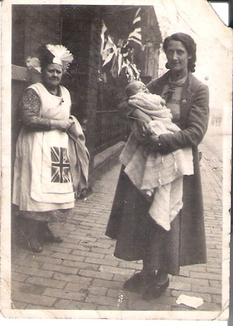 Photo for inclusion in your valuable site. Mrs EMILY Louisa Williams..& Mrs Cissie WESTON (with son Derek), outside No.21 Benson Road. Coronation King George V1 1937. Best Regards Derek Weston                  derekjohnweston @hotmail.co.uk.