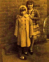 My sister Sue Lowe and a friend, is it Joy Whittle?