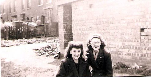 Betty and June the shelter was built on the bomb crater.The bomb fell immediately behind our house 32 Cape Street if it had hit a few yards on I would not be writing this.