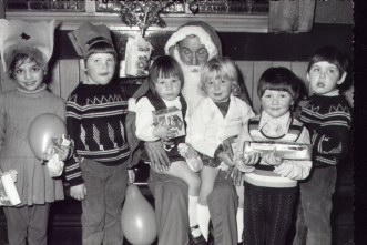 Devonshire Arms  Christmas 1973.