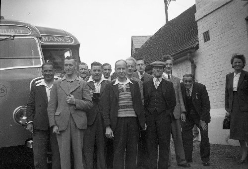 MEN FROM THE RAILWAY INN
