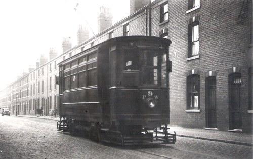 Birmingham Tramcar: Late 1930s. HEATH STREET???