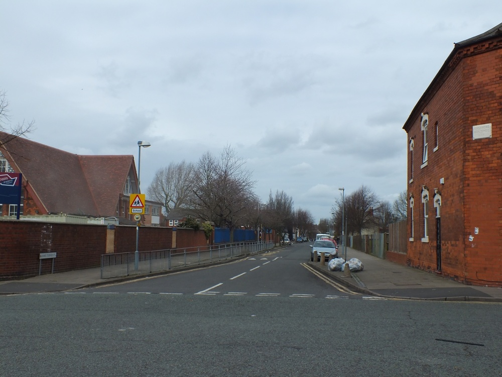 JAMES TURNER STREET WITH FOUNDRY ROAD SCHOOL ON THE CORNER 2015