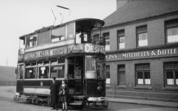 Terminus of the No 32 Birmingham tram