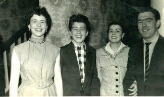 Elsie, Terry, and Brian Floyd