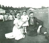 MOM, ME and DAD at a GKN sports day
