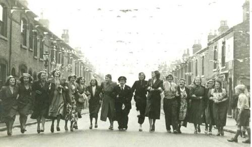 WINSON STREET 1953 Coronation Party
