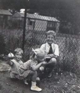 My eldest brother Michael was born in 1944, myself Brenda  in 1947, and my youngest brother Tony in 1950.