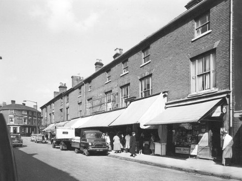 SPENCER GREEN GROCER 'THE FLAT'