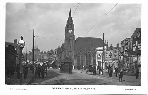 PHOTO WAS TAKEN IN SUMMER HILL ROAD.                            SPRING HILL WAS FORWARD FROM THE LIBRARY