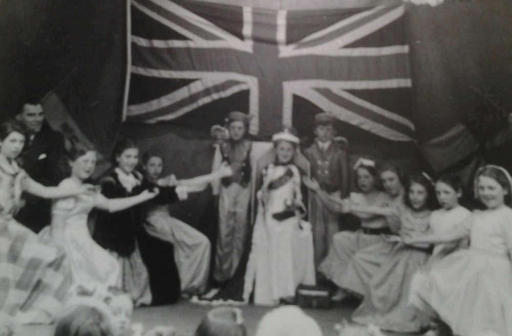 PRESTON ROAD  CORONATION CELEBRATION 1953