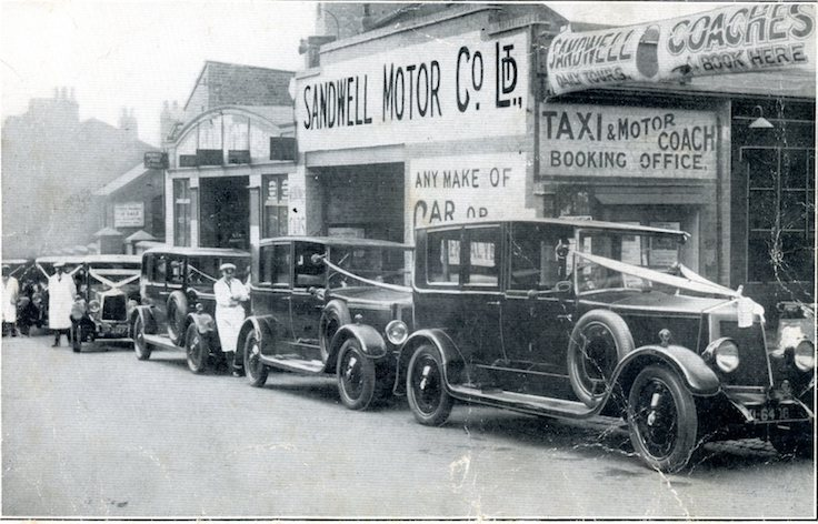 SANDWELL MOTOR CO LTD.      NINEVEH ROAD  1930s     (Thanks to Tony Porter for the photo.)