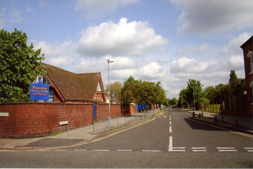 Foundry Road School, Foundry Road and James Turner Street