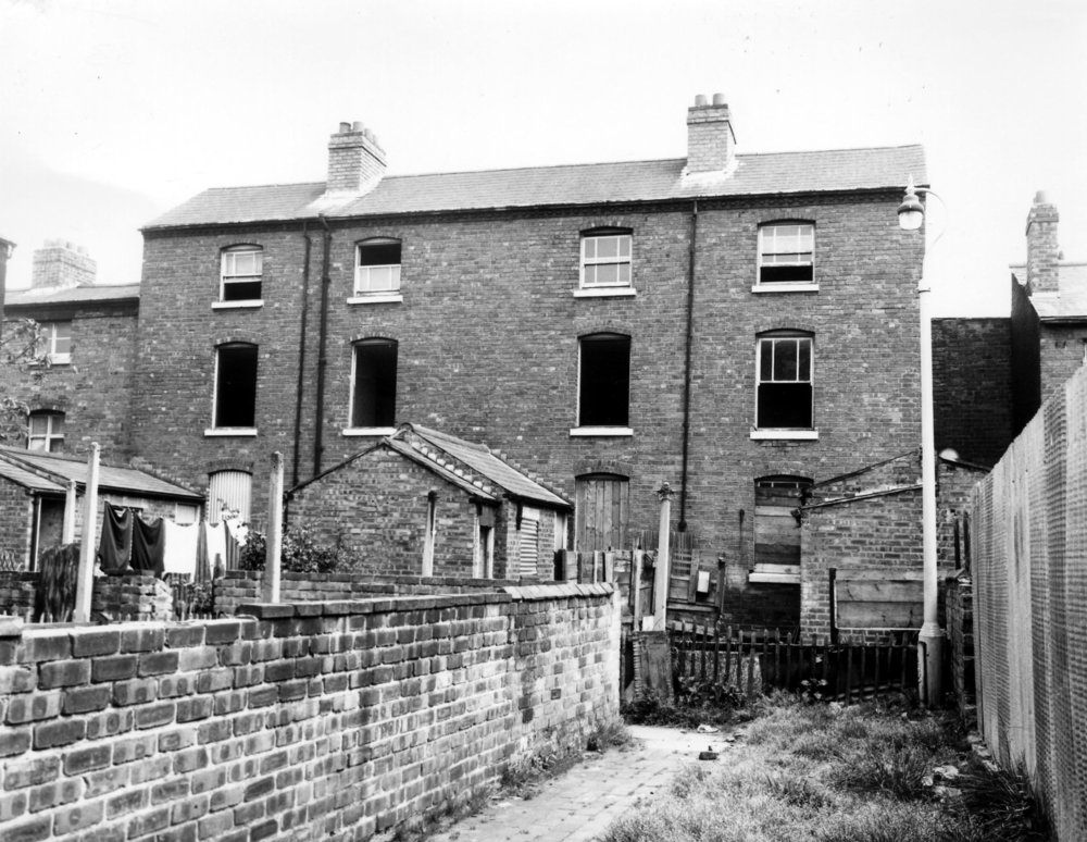 1 TO 4 BACK OF 46 ABERDEEN STREET JUST BEFORE DEMOLITION