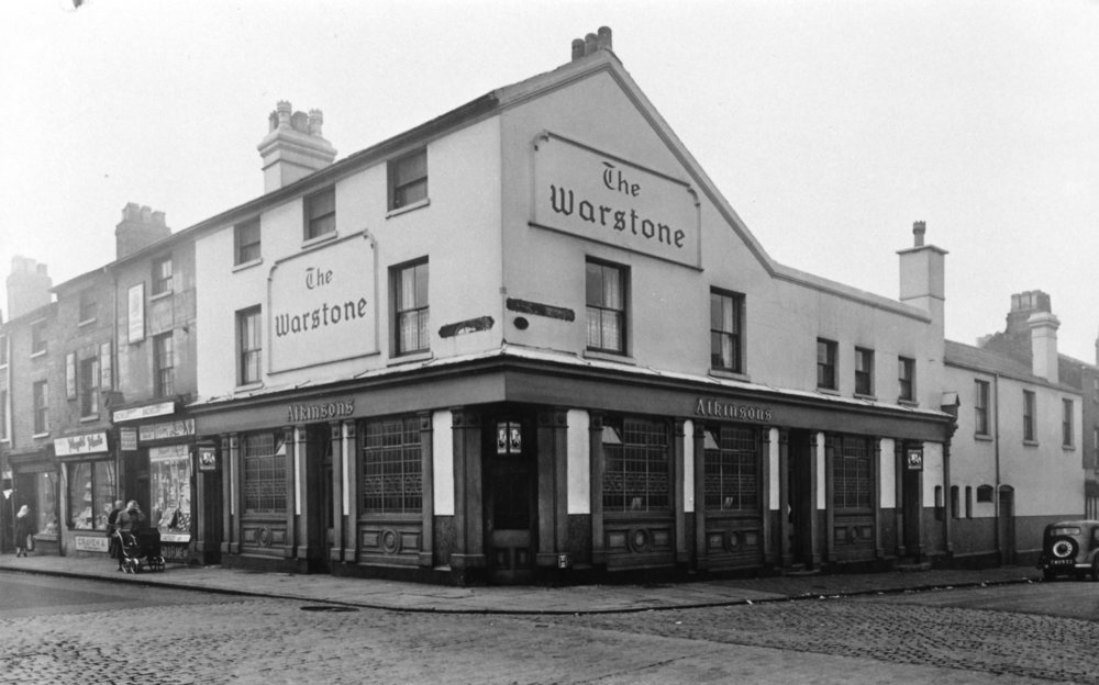"""THE WARSTONE"" PUBLIC HOUSE CORNER OF ICKNIELD STREET AND CAMDEN STREET"