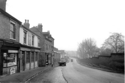 LODGE ROAD TOWARDS HOCKEY.                                                                                                        WITH THE WINSON GREEN TAVERN oka THE DON ON THE LEFT