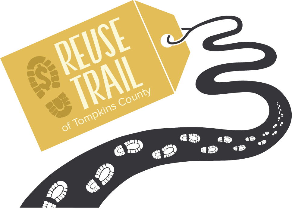 The Reuse Trail has 45 stores selling everything--including the proverbial kitchen sink!
