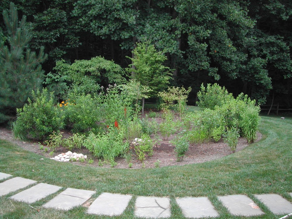 Residental Rain Gardens  Fairfax County, Virginia